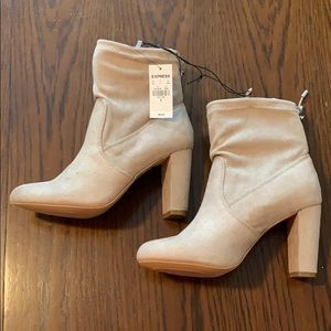 Express Shoes - Tan boots